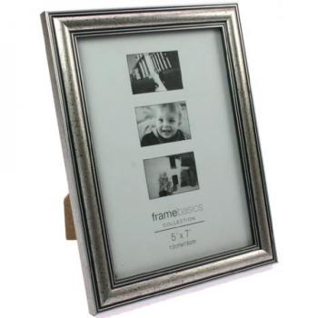 Davartis - Fotorahmen Antik Silber - Bildformat 13x18cm -...