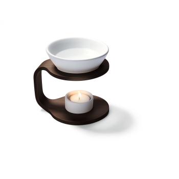 Davartis - Duftlampe Balance braun-weiß - Holz...