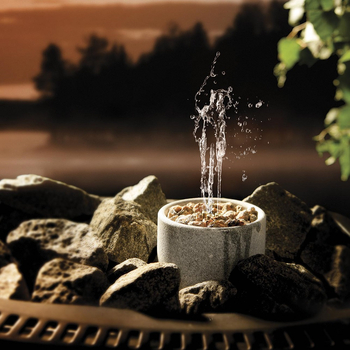 Hukka Saunatroikka - Springbrunnen für den Saunaofen