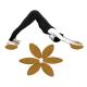 Yoga Korkblock / Yogablock Egg 30,5 x 12 x 7,5cm - Naturkork