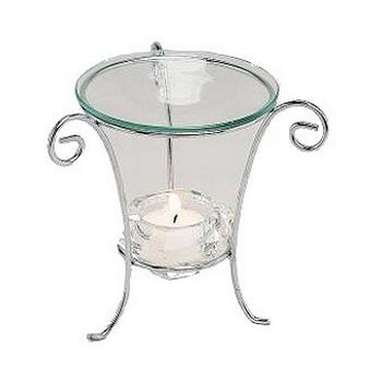 Davartis - Duftlampe Glassy - Glas, Metall, Höhe ca...