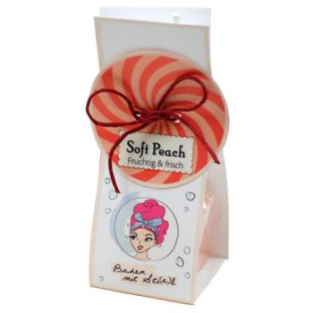 BadeFee - Bade Pops Soft Peach - 50g unvergleichlich...