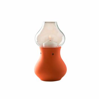 Candola - Lampe Aladin terracotta - 19cm, Zierhülle...