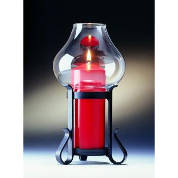 Candola - Lampe Lumina Schmiedeeisen schwarz - Höhe...