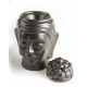 Davartis - Duftlampe Buddhakopf - Keramik, oberer Teil abnehmbar