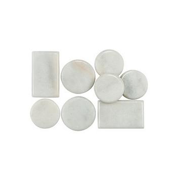 Davartis - Cold Stones Set klein - Calcit Marmor, punktuell