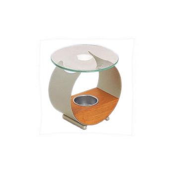 Davartis - Duftlampe Woodocean - Metall, Holz, Glasschale