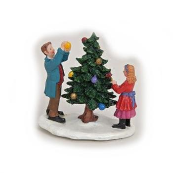 Davartis - Miniatur / Modellbau Weihnachten Szene Baum...