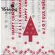 """Perleberg - Tischdekor Lifestyle Serviette """"Happy Christmas"""""""
