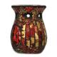 Davartis - Duftlampe Mosaik - lila/ rot-gold - Blickfänger