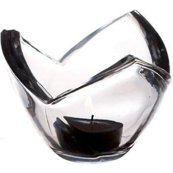 Glas Teelichthalter Tulpe