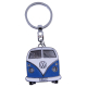 VW Bulli T1 Schlüsselanhänger Blau