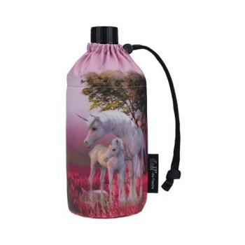 Emil - Flasche Einhorn 0,4 L .- 30°C waschbar, pink,...