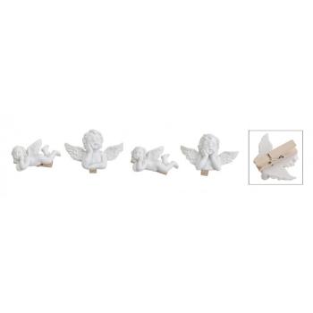 Davartis - Dekoklammer Engel auf Klammer 4cm - 1 Stück