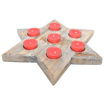 Davartis - Sternen Kerzenhalter, Teelichthalter - ohne...