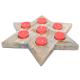 Davartis - Sternen Kerzenhalter, Teelichthalter - ohne Kerzen