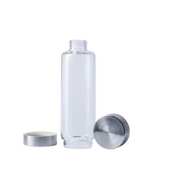 VitaJuwel - ViA Flasche 500ml ohne Einsatz mit 2 Deckeln