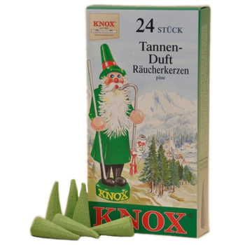 Knox - Räucherkerzen 24 Stk. - Tanne / pine,...