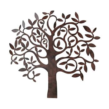 Boltze - Wand Objekt / Wanddekoration Baum 71 x 67cm -...