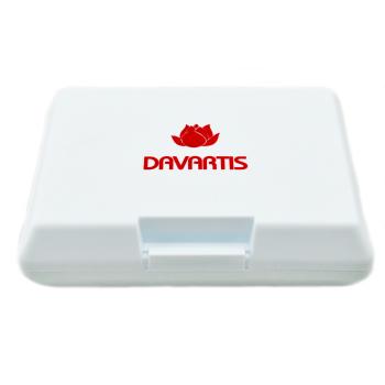 Davartis Brotdose / Lunchbox weiß