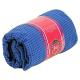 Yoga Handtuch rutschfest - PVC - Blau