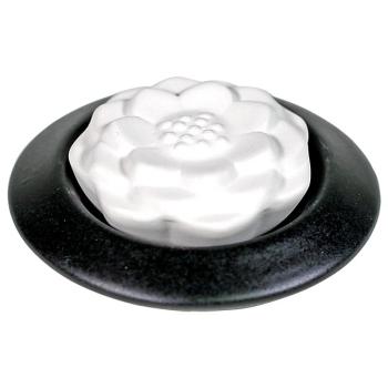 Davartis - Duftstein Lotus - Teller schwarz