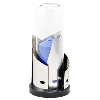 Candola - Design Lampe Face-Art Stainless - Zylinder klar...
