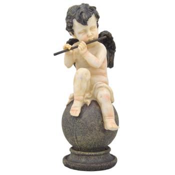 Davartis - Dekofigur - Spielender Engel