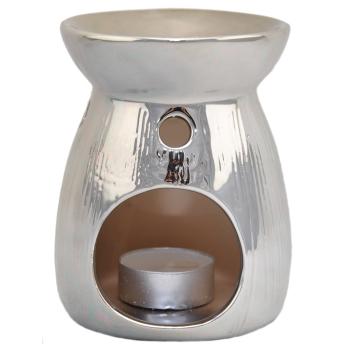 Davartis - Duftlampe - Silber Optik