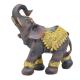 Davartis - Afrikanischer Elefant - mit Goldverzierung - C