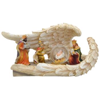 Davartis - Heilige 3 Könige - Deko mit Schneekugel