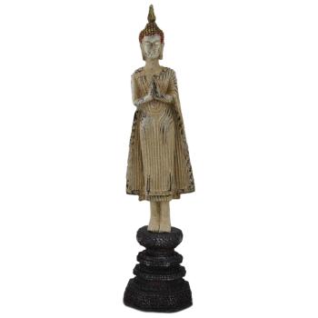 Davartis - Stehender Buddha auf Sockel - 32cm