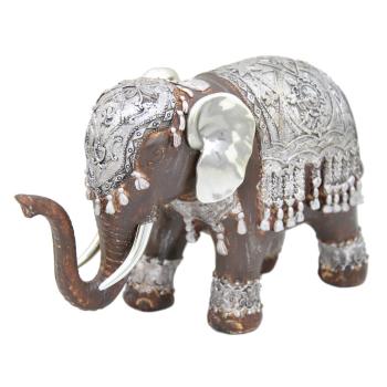 Davartis - African Style - Elefant - Mokkafarbe