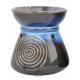 Davartis - Duftlampe African Style - Blau - ca. 10,5 x 9cm