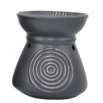 Davartis - Duftlampe African Style - Schwarz - ca. 10,5 x...