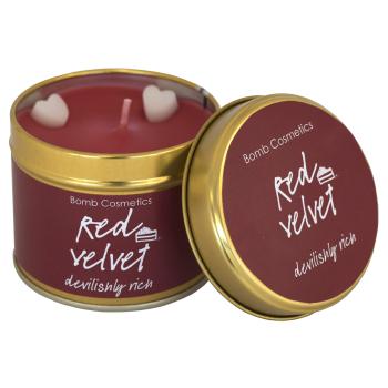 Bomb Cosmetics - Red Velvet Dosenkerze - 200g