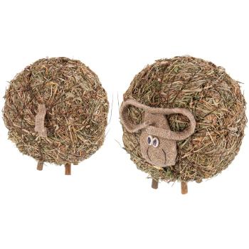 Davartis - Sauna Schaf aus duftendem Heu - 1 Stück