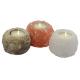 Himalaya Salt Dreams Salzkristall Teelichthalter Rocket Trio