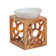 Davartis - Duftlampe Maya aus Keramik/Bambus