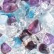VitaJuwel - Via Flower of Life - Amethyst, Aquamarin, Bergkristall