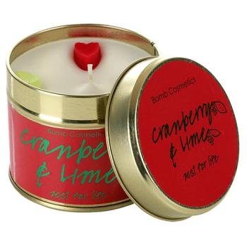 Bomb Cosmetics - Cranberry & Lime Dosenkerze - 200g...