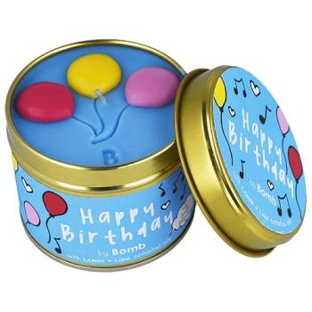 Bomb Cosmetics - Happy Birthday Dosenkerze - 200g...