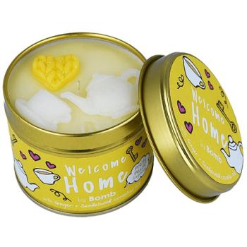 Bomb Cosmetics - Welcome Home Dosenkerze - 200g Pfirsich...