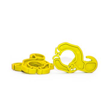 KLICKSO - Die Sockenklammer - 5 Stück - Gelb