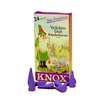 Knox - Räucherkerzen Veilchen Duft / Violet - 24 Stk.