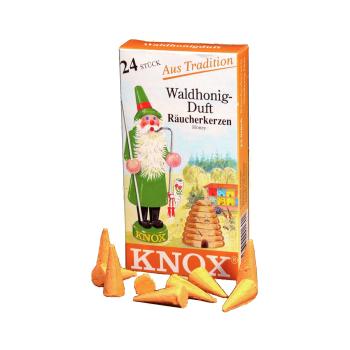 Knox - Räucherkerzen Waldhonig Duft / Honey - 24 Stk.