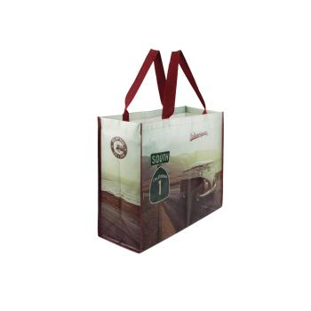 VW T1 Bus Shopper Bag / Tragetasche - Highway 1