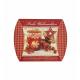 Geschenkschachtel / Kissenschachtel ca. 12cm x 12cm (Frohe Weihnachten)