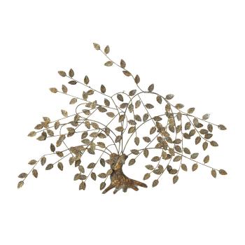 Boltze Wandobjekt Baum Juline 125cm - Florale Wanddeko...
