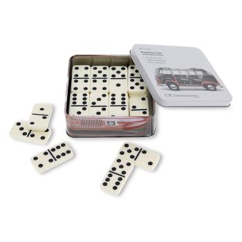 VW Bulli T1 Domino Set in Metalldose